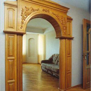 Межкомнатные арки из массива